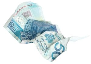 pognecione 50 zlotych